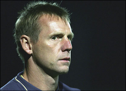 Stuart Pearce on as Man City lose