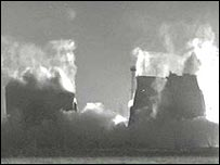 Demolition of Drakelow cooling towers
