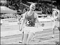 Sir Menzies Campbell in his running days