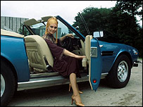 Angela Rippon in Top Gear