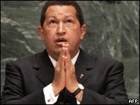 El presidente de Venezuela habla ante la Asamblea General de la ONU.