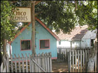 House of Chico Mendes. Image: BBC