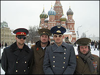 The boys in Russia
