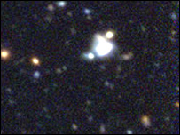 Supernova SNLS-03D3bb (Image: Berkeley Lab)