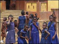 Sierra Leone schoolchildren