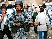 Nepalese soldier