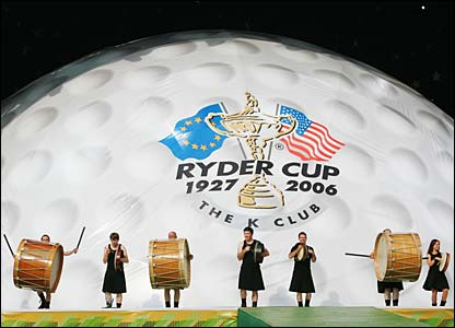 Ryder Cup opening ceremony