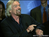 Sir Richard Branson in New York