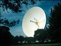 Radiotelescopio de Jodrell Bank, Reino Unido