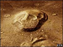 The skull (Esa/DLR/FUBerlin/G.Neukum)