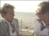 Lionel Blair and Alan Carr