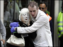 Walking wounded from the 7 July bombings