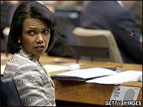 Condoleezza Rice, Secretaria de Estado estadounidense