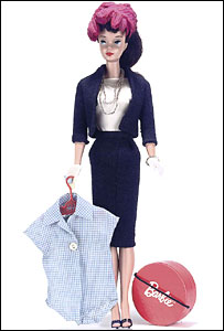 No.4 Barbie in a commuter outfit