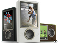 Microsoft Zune media player, AP