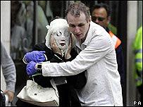 Bomb victim