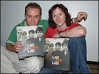 U2 fans Ian O'Flynn and Jo Taggart