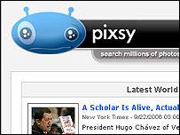 Pixsy website