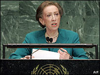 UK Foreign Secretary Margaret Beckett