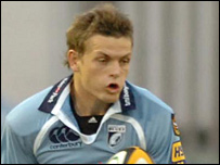 Ben Blair impressed for Cardiff Blues from full-back