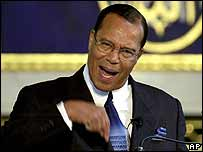 Louis Farrakhan (image from 2001)