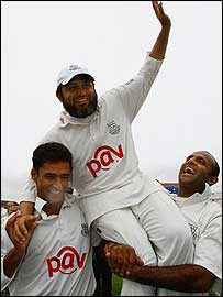 Yasir Arafat, Mushtaq Ahmed and Rana Naved