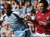 Trevor Sinclair and Matthew Etherington
