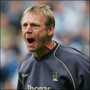 Man City boss Stuart Pearce