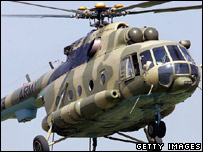 A Mi-17 helicopter (archive picture, Pakistani air force)