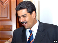 Venezuelan Foreign Minister Nicolas Maduro (recent picture)