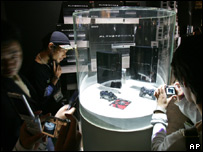PlayStation 3 on display