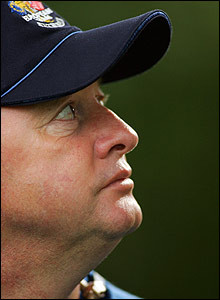Europe's captain Ian Woosnam