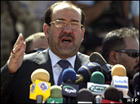Iraqi Prime Minister Nouri Maliki (file picture)