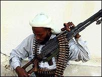 Somali Islamist gunman