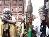 Somali Islamist gunmen