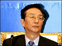 Chen Liangyu on 21 September 2006