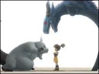 Screenshot from Blue Dragon, Microsoft