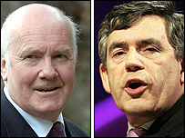 John Reid and Gordon Brown