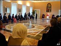 Reunión con el Papa