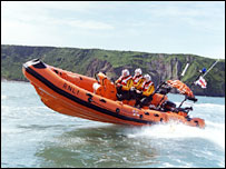 RNLI Atlantic 75 inshore lifeboat