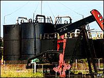 Campo petrolero en el estado Zulia, Venezuela