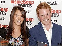 Lacey Turner and Charlie Clements