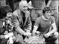 Tommy Smith, Bill Shankly and Emlyn Hughes