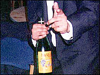 Buckfast being held