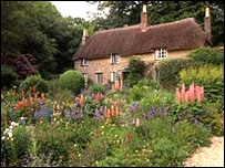 Cottage at Higher Bockhampton courtesy of National Trust