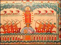 St Edmund tapestry