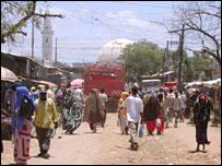 Baidoa street scene