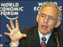 Augusto López-Claros, economista del Foro Económico Mundial (cortesía WEF)