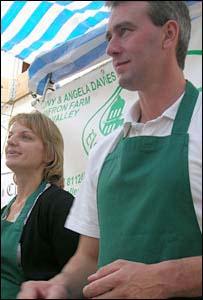 Angela and Tony Davies