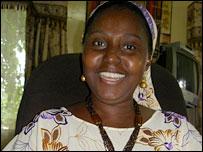 Gambia's Secretary of State for Tourism Susan Waffa-Ogoo